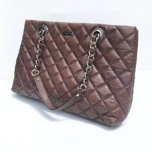 Kate Spade Emerson Place Allis Quilted bag brown